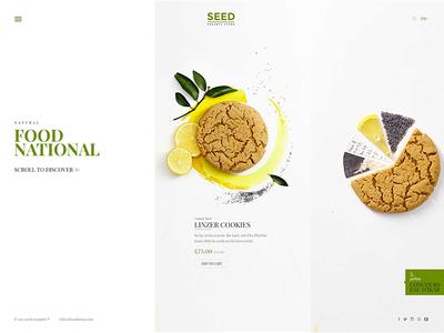 Seed Wordpress Lookbook 2 cosmetic vegetable natural multipurpose health green food farm bio organic shop organic food
