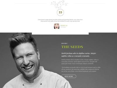 Seed Organic Wordpress Theme