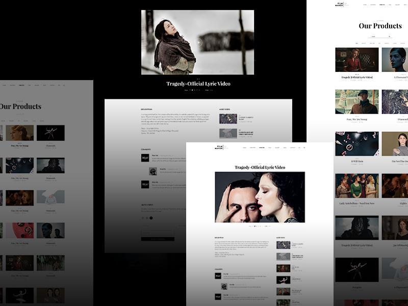 Home Video Blogger - Filmmaker wordpress theme by Beau