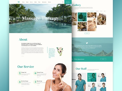 BnB Best Wordpress Theme for Massage Spa