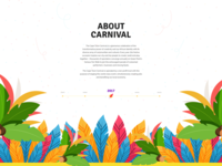 Free Download - Carnival – Landing Page For Festival Event