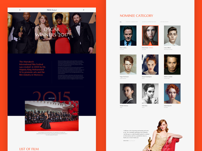 Film Festival – An Beautiful Free Design Template For Festival landing page free sketch free download free design film festival film festival actress actor