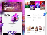 Free Download – EDM Party – Landing Page For Music Event