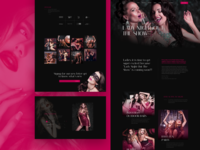 Lady Night – Landing Page For Party Event