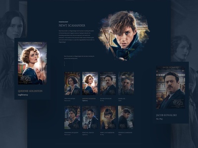 Free Download Template For Fantastic Film Releasing Landing Page