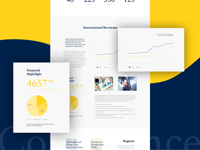 Report Chart for Business business report club company conference event infographic exhibition startup trendy typography chart