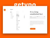 Getypo - Tool Find & Mixing Font for Designer