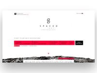 SpacedChallenge #01 Website UI/UX  WIP