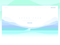 Travel Landing Page UI/UX