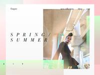 Spring/Summer Web UI