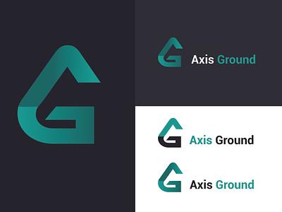 Logo (Axis Ground ) creative design logos illustration brand identity logo logo design creative logo branding adobe illustrator