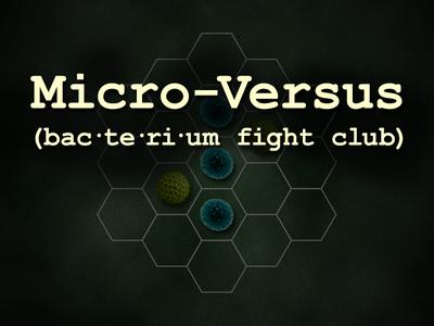 Micro-Versus bacteria ludum dare game dev game video game
