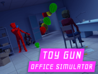 """Toy Gun Office Simulator"" Capsule Art"