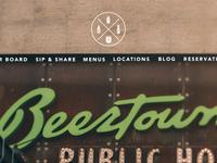 Beertown Homepage