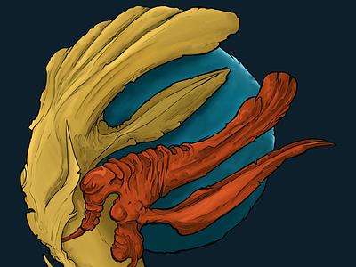 KRON concept art surrealism design illustration digital painting characterdesign