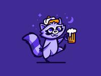 Stumblin' Raccoon