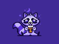 Drinkin' Raccoon
