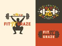 Fit N' Graze Branding