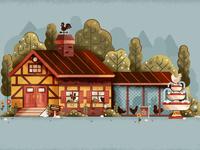 A Chicken Coop Mansion