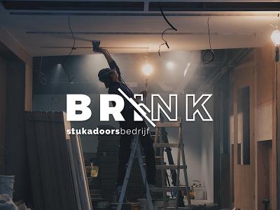 BRINK logo design branding design logo