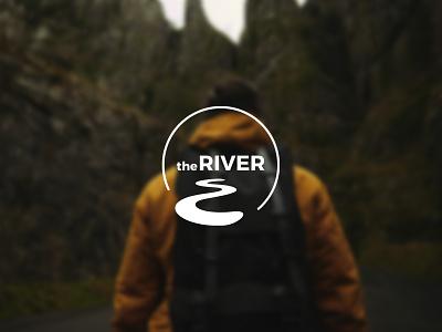 theRIVER Logo Design graphic design illustrator branding design logo