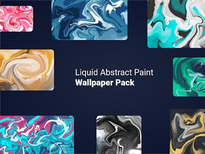 Liquid Abstract Paint Wallpapers liquid paint wallpaper design marbling wallpaper