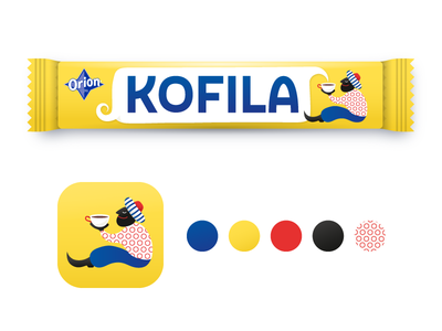 KOFILA packaging concept kofila visual concept pattern graphic illustrations illustration package design packaging