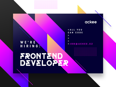 Hiring posters visual app design ios ui ux neon illustration 80s hiring gradient poster