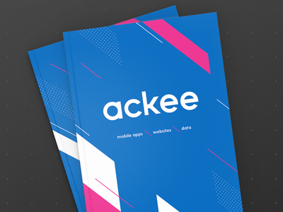 Ackee brochure print ux ui layout design graphic development mobile app illustration brochure