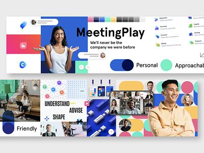 Approachable Stylescape typography logo color ui design web product concept branding inspiration interface web design tech stylescape