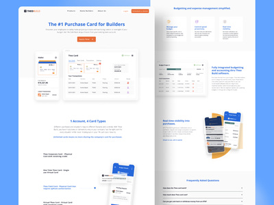 Purchase Card Page branding product interface web design ux ui