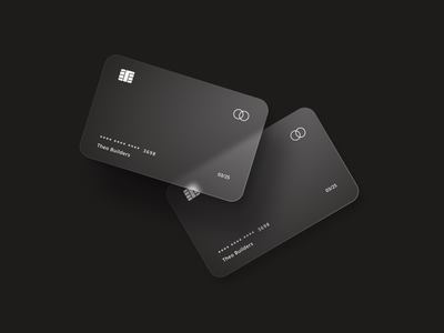 Credit Card Experiment product interface simple bankcard banking card design credit glassmorphism credit card