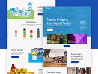 Landing & Product Page