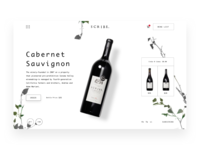 Scribe Winery Product Landing Page