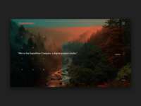 Expedition Co. Landing Page