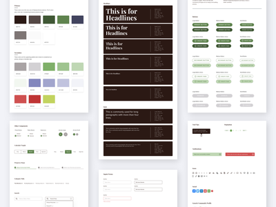 Lotsa Helping Hands Styleguide interface design web ux ui guide page styleguide product design tool design system design art