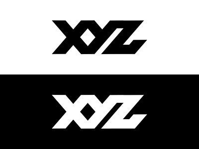 XYZ Monogram logo vector valiant