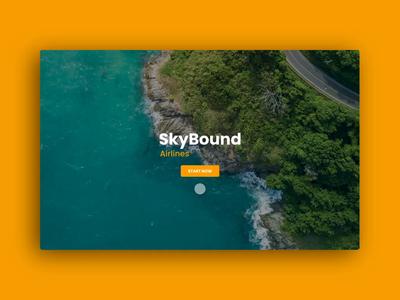 Travel animation branding web minimal design