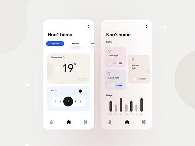 Home app mobile house home graphic design app 3d ux ui