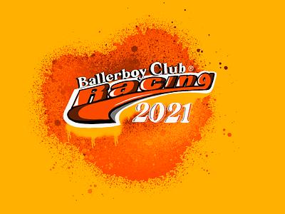 Ballerboy Club vector logo freehand digital illustration digital art