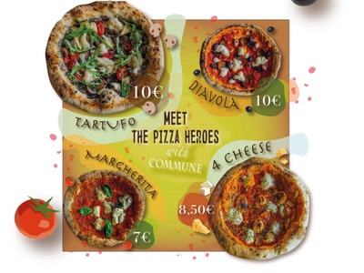Vegan Pizza Advertisement. Craft project. creative design pizza hut vegan craft design craft illustration branding vector design graphic design