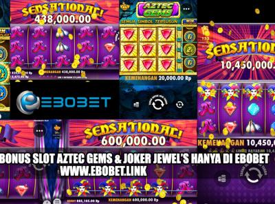 Bonus Slot Joker Jewels Aztec Gems Hanya Di Ebobet By Ebobet On Dribbble