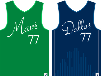 Dallas Mavericks Concept Jersey nba mavericks dallas mavericks jersey jersey design jersey mockup mockup concept design concept design