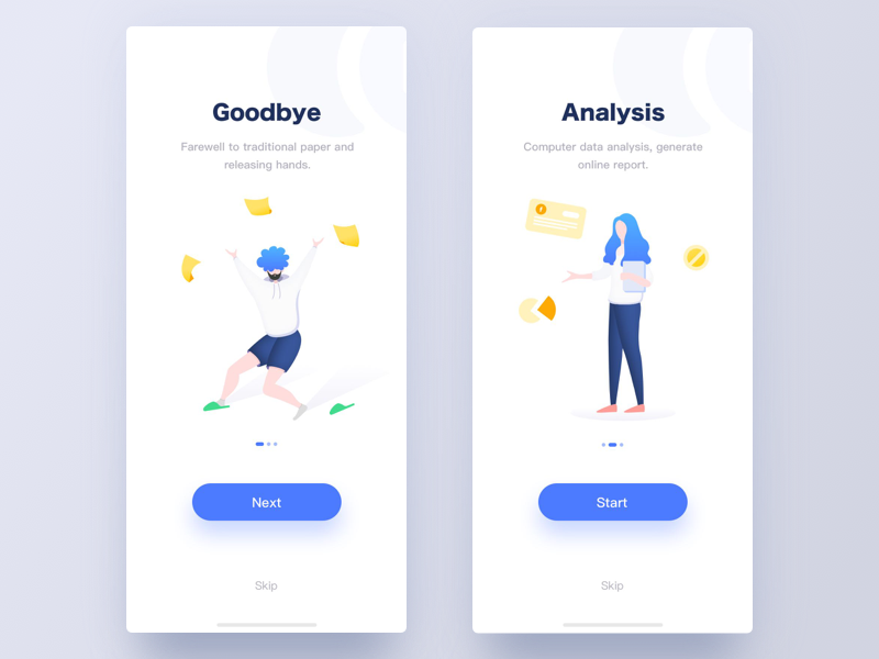 Welcome by Erran for Face UI on Dribbble