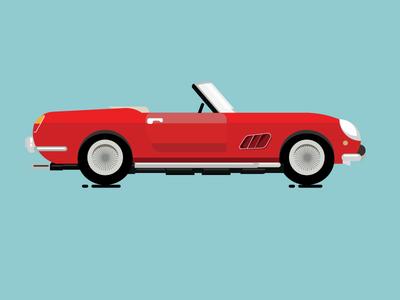 Project 365 12/365 1961 Ferrari Gt California Spyder