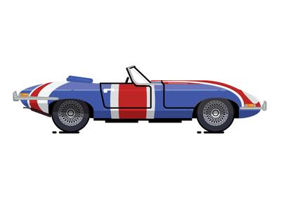 365 Project Day 16/365 1961 Jaguar E Type