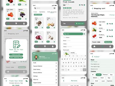 Market App dribble figmadesign figma uiux designer uiuxdesigner uiux design uiuxdesign ui design uidesign ui  ux uiux ui design ui ux design uiux design ui design app design market app