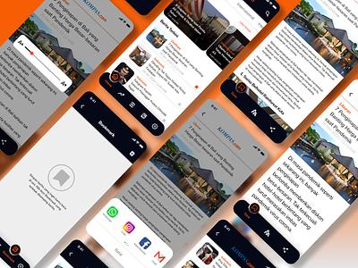 Re-Design KOMPAS.com App news app dribble designs design design app figma design figmadesign figma uiux designer uiuxdesigner uiux design ui design uidesign ui  ux uiuxdesign uiux ui redesign
