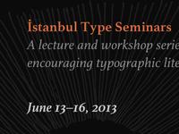 İstanbul Type Seminars