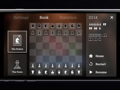 Chess Game Rulers UI